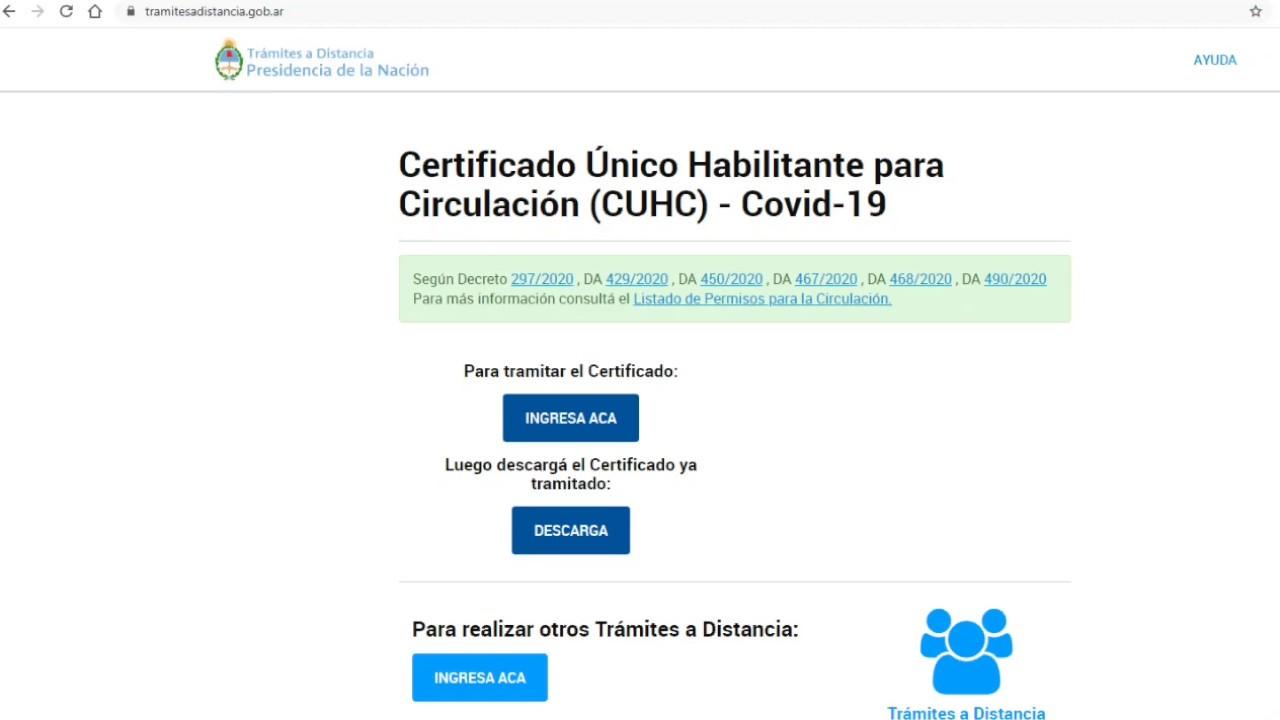 Certificado De Circulación Obtenerlo En 5 Minutos 2020