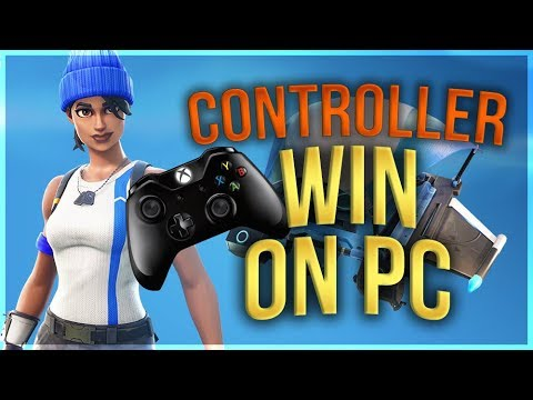 HOW TO WIN | Controller on PC Tips and Tricks (Fortnite Battle Royale)