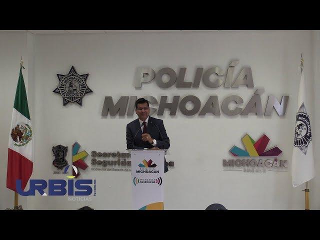 Delitos en Michoacán, a la baja: SSP – UrbisTV