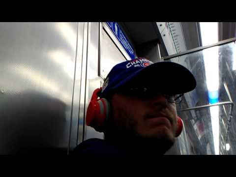 Graeginator Riding CTA Green Line