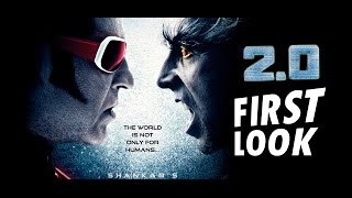 Robot 2.0 trailer : first look | rajnikanth, akshay kumar, amy jackson