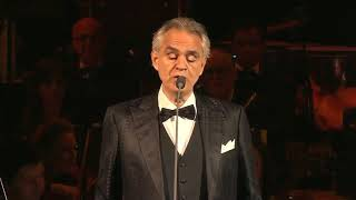 The world's most famous opera singer, Andrea Bocelli, takes the stage tonight to perform i