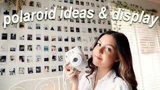 polaroid camera photo ideas! (fujifilm instax mini 9)