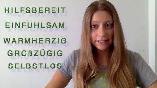 Немецкий по скайпу: Положительные Черты Характера