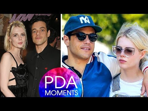 Rami Malek and Lucy Boynton Romantic and Hottest PDA Moments 2018 Mp3