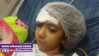 ابنة قس «البطرسية» توجه رسالة للإرهابيين من على فراش مستشفى الدمرداش.. فيديو