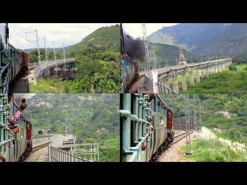 JAMMU - UDHAMPUR - KATRA (Mata Vaishno Devi) Railway Line - Indian Railways' Engineering Marvel
