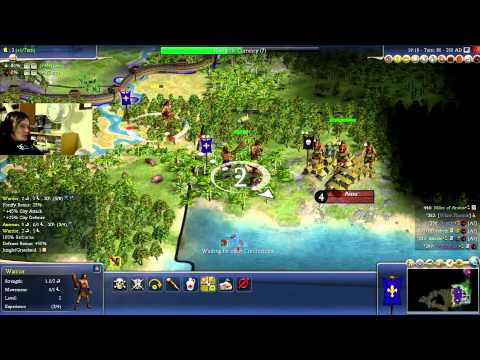 MULTIPLAYER MADNESS - Civilization IV with Dan and Miles - #3 - BARTERING AND BARBARIANS