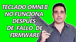 COMO SOLUCIONAR FALLA DE FIRMWARE TECLADO GAMER OMNI II