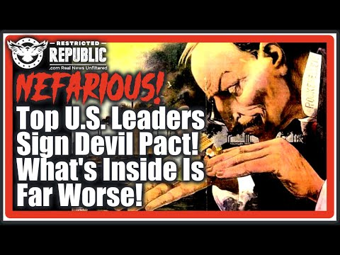 RED ALERT! Top US Leaders Just Made a Nefarious Pact Declaring War On The States & Seizing Contr