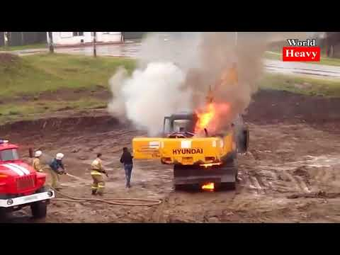 Safety at work FAILS 2017 Heavy Equipment Accidents Caught On Tape Excavator Disasters Truck Win