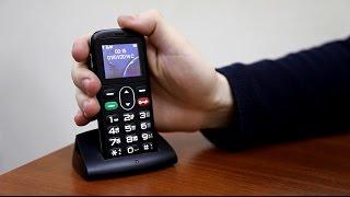 видео Бабушкофон Vertex C301 Лучший телефон для пожилых людей, сравнение шести бабушкофонов