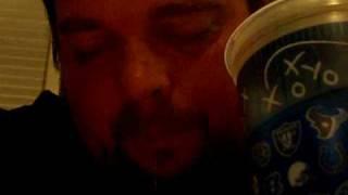 DRUNK GUY FALLING ASLEEP SNORING