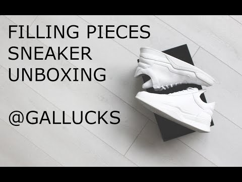 Filling Pieces | Sneaker Unboxing | Gallucks