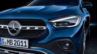 2020 Mercedes-Benz GLA h247 new generation of the compact SUV