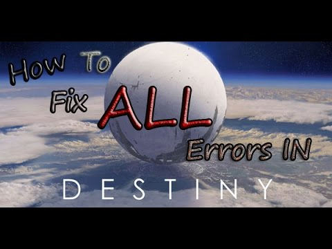 How to Fix All Destiny Issues Easy Tutorial