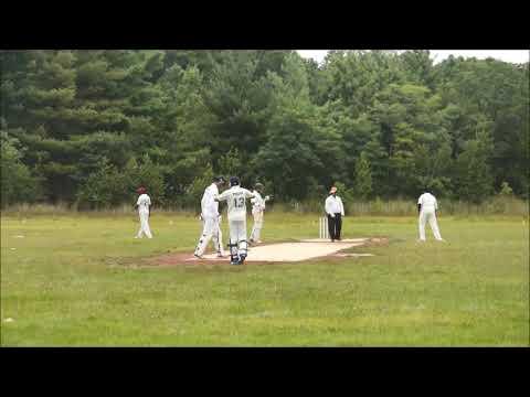 Amar Shah bowling spell  ball by ball