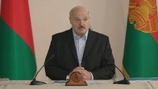 Лукашенко провел совещание в Витебском районе