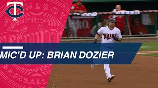 Brian Dozier crushes homer while mic'd up