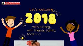 NEW YEAR 2018 WISHES DJ SONG GREETINGS COUNTDOWN ANIMATION REMIX STATUS HAPPY NEW YEAR 2018