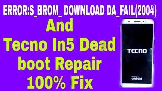 Tecno in5 dead boot recover flash file