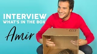 INTERVIEW - Amir réalise le WHAT'S IN THE BOX CHALLENGE !