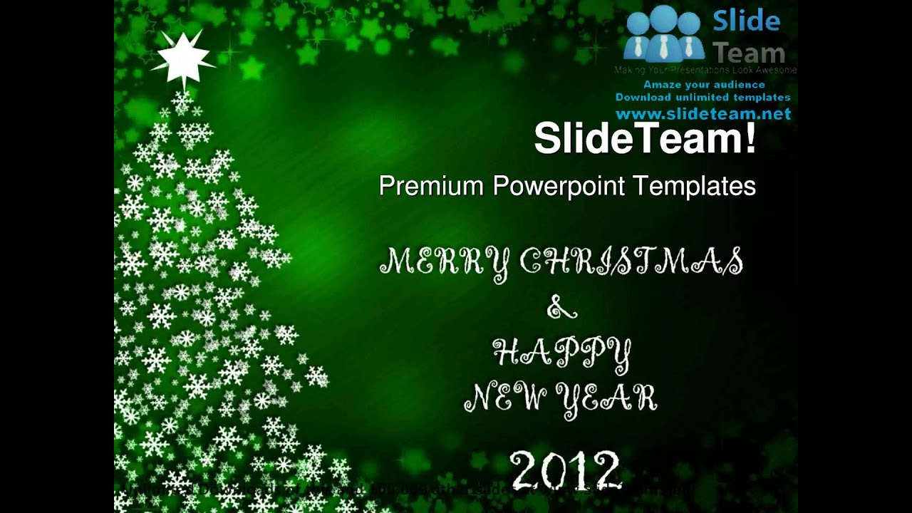 merry christmas and happy new year festival powerpoint templates themes and backgrounds ppt themes