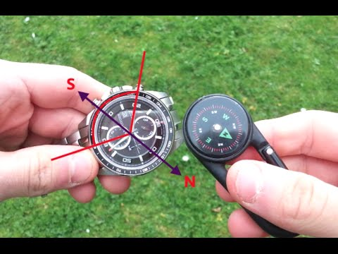 How to Use Your Watch as a Compass