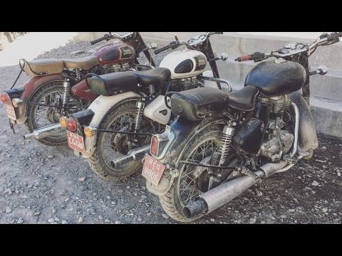 Enfield Trip From Pokhara to Lo-manthang | Upper Mustang | NEPAL | HD |