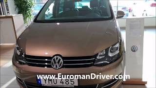 Volkswagen Sharan 2018 Exterior And Interior Redesign with EuromanDriver Test Driver