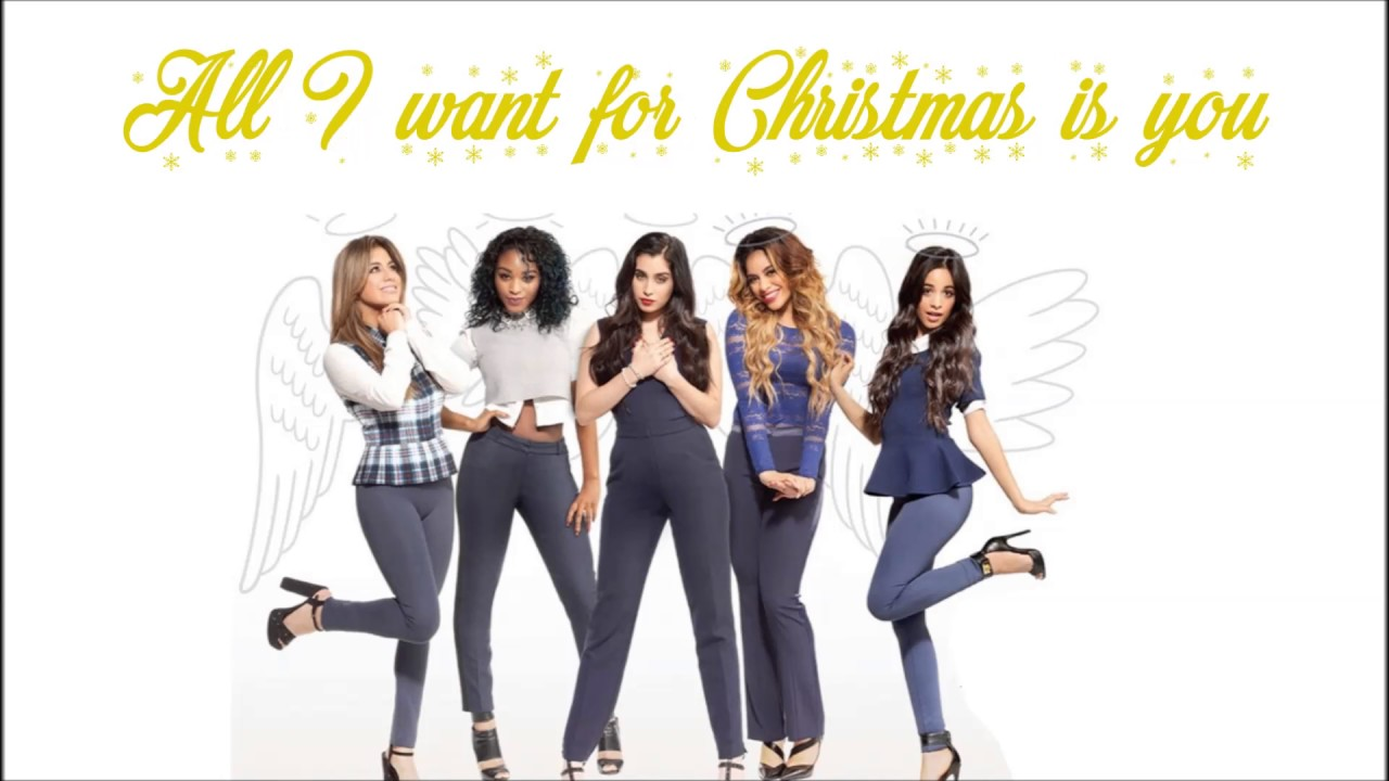 Fifth Harmony - All I Want For Christmas Is You (Lyrics) - YouTube