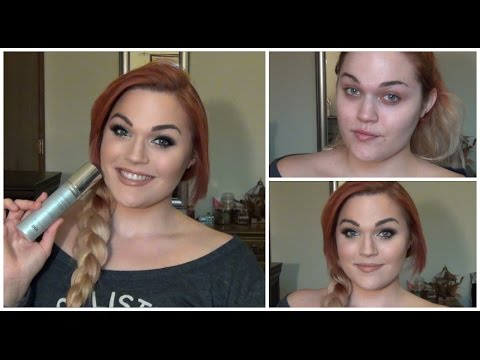 Pur Minerals Liquid Veil 4 in 1 Spray Foundation | Review & Demo