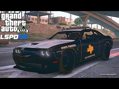 LSPDFR #527 TEXAS STATE TROOPER PATROL!! (GTA 5 REAL LIFE POLICE PC MOD)