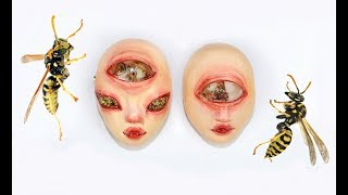 Using real WASPS for my Doll Faces ! ALIENMOÈ DOLLFACE STORIES #20