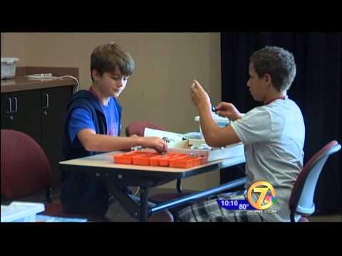 WJHG coverage on STEM Camp 2013