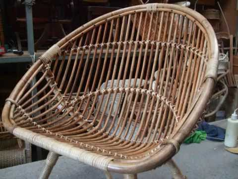 Nice How To Restore A Cane Saucer Chair Pt.2.