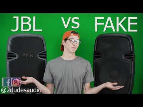 FAKE Vs Real! JBL EON What's Inside?