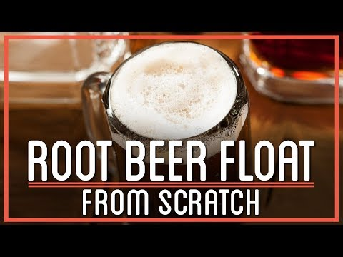 How To Make A Root Beer Float From Scratch | Sassafras Maple Brew: HTME: Remix
