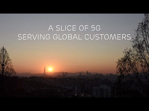 A slice of 5G serving global customers