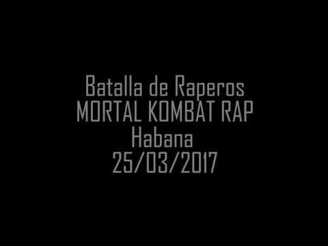 Batalla de Rap (Mortal Kombat Rap) Habana 25/03/2017