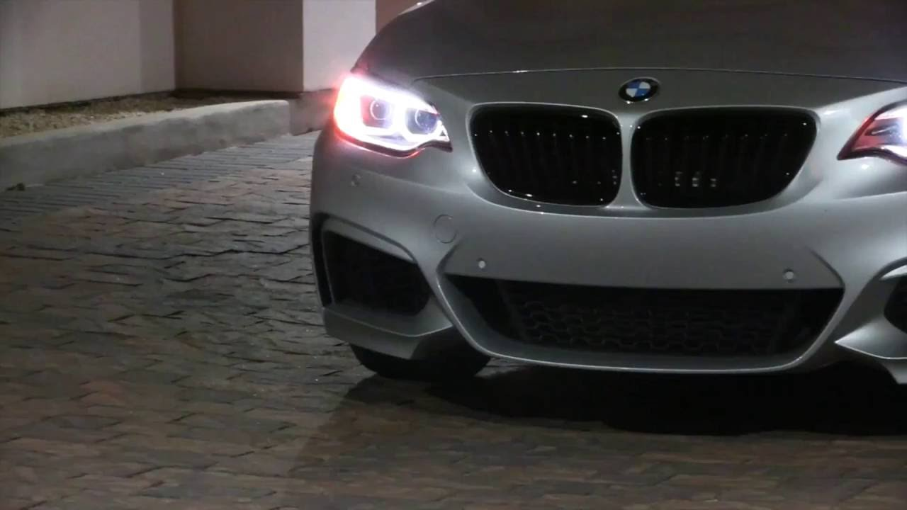 Glacier Silver BMW M235i Driven