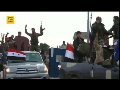 قوات موالية للنظام السوري وأخرى تركية تصلان إلى عفرين  - نشر قبل 8 ساعة