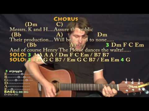 Being For the Benefit of Mr. Kite (The Beatles) Guitar Cover Lesson with Chords/Lyrics