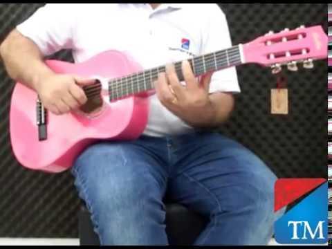 Violão Kauton 34 rosa - Território da Música