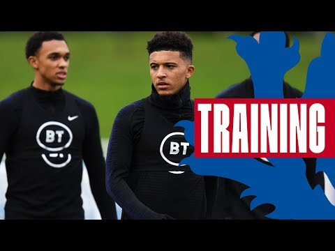 Hard Work, Recovery & Trent v Sancho as Three Lions Prepare for Czech! 🦁| Inside Training | England
