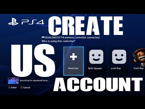 Create New Playstation Network Psn Scea Account On The Ps4