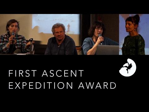 Grit and Rock First Ascent Expedition Award Destivelle Bradey Billon Asselin - 11470