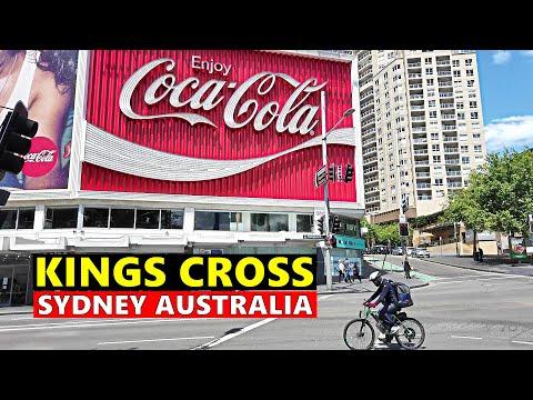 KINGS CROSS Sydney Walking Tour, Potts Point NSW Australia