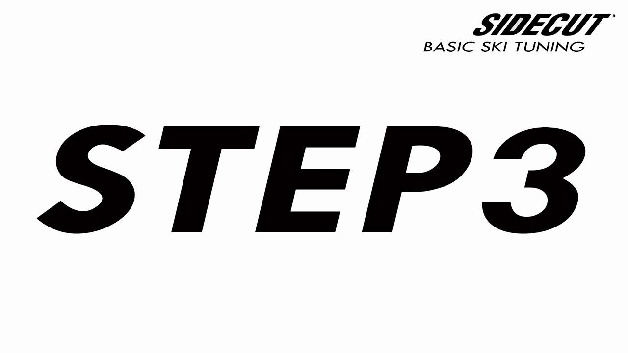03 Ski Tuning Basic - step 3 Check for Flatness