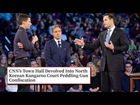 CNN Hosts A Crazy, Scripted? Townhall Featuring Parkland Survivors; Accuse Kid of Lying (REACTION)